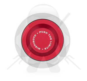 Mishimoto Mitsubishi Oil Filler Cap Red - MMOFC-MITS-RD