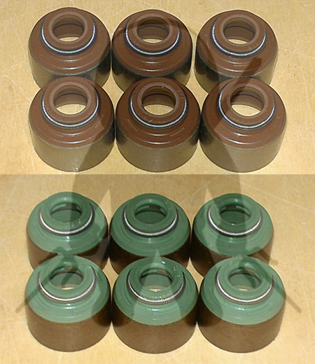 Mitsubishi OEM 6G72 DOHC Valve Stem Seals Set of 12