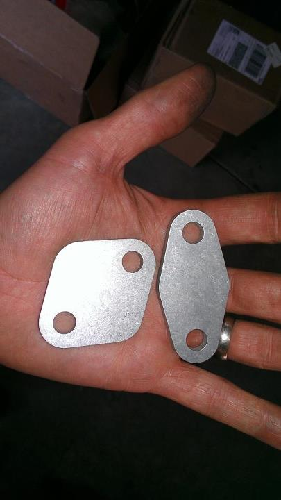 Ninja Performance EGR Block Off Plates