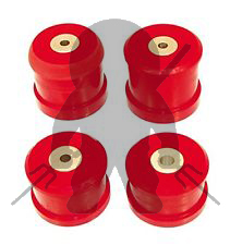 Ninja Performance 3000GT Stealth Poly Engine/Trans Mount Inserts - Red