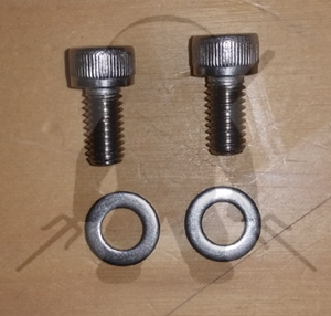 Mitsubishi 3000GT Stealth Fuel End Rail SS Bolt Kit - 2
