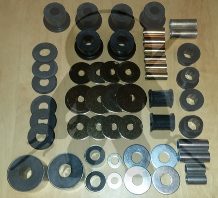Ninja Performance 3000GT Stealth Front Poly Bushing Kit - Complete - FWD