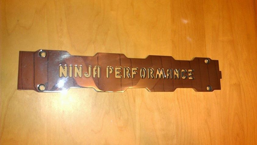 Ninja Performance Spark Plug Cover Set Polished