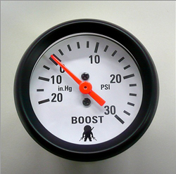 Ninja Performance 30 PSI Boost Gauge 52MM