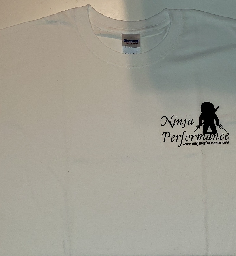 Ninja Performance Logo T-Shirt - White