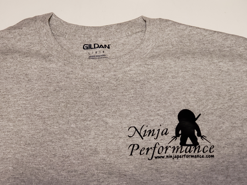 Ninja Performance Logo T-Shirt - Light Grey