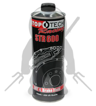 StopTech STR-600 Racing Brake Fluid DOT 4