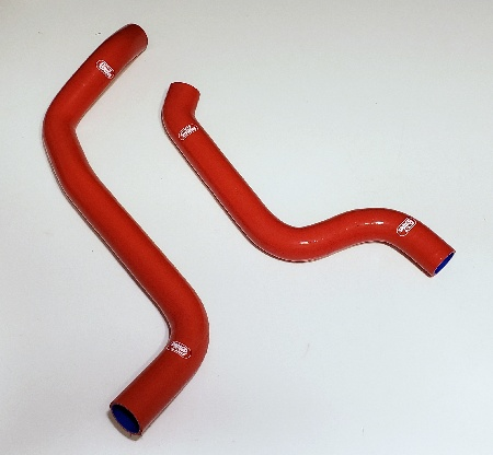 Samco Silicone Radiator Hoses - Red