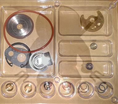 Mitsubishi TD04 TE04H Flat Back Turbo Rebuild Kit