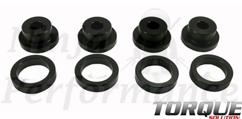 Torque Solution Drive Shaft Carrier Bearing Support Bushings EVO