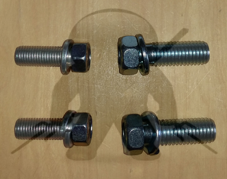 Mitsubishi OEM 3000GT Stealth Trans Stay Bracket Bolt Set - Rear