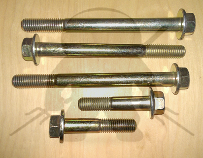 Mitsubishi OEM 3000GT Stealth  Transfer Case to Bellhousing Bolt Set 5Spd