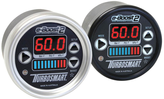 Turbosmart e-Boost 2 60MM White/Silver