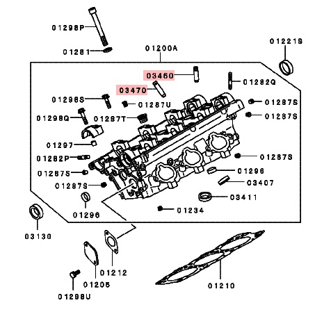 Mitsubishi OEM 6G72 DOHC Exhaust Valve Guide (6G72DOHCEXHGuides) - Ninja Performance - Affordable