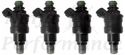 Deatschwerks Fuel Injectors 1000CC set of 6 91-99 3000GT Stealth
