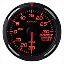 Defi Racer Boost Gauge 52mm Red
