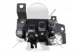 Mitsubishi OEM 3000GT Stealth Driver's Door Window - Lock Switch - BLACK