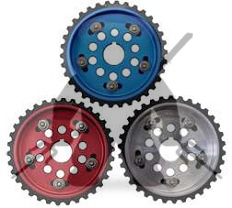 Fidanza Adjustable Cam Gears 6G72 DOHC - RED