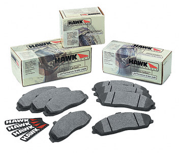 Hawk 1991-1993 AWD Front HP Plus - Rear HPS Pad Package