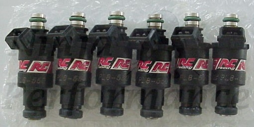 RC 550cc Fuel Injectors set of 6 3000GT VR4 Stealth RTTT