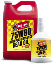 RED LINE 75W90 Gear Oil 1 QT
