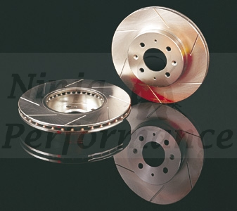 Stop Tech Slotted Front Rotors Pair 91-93 VR4/RTTT 126.46031S