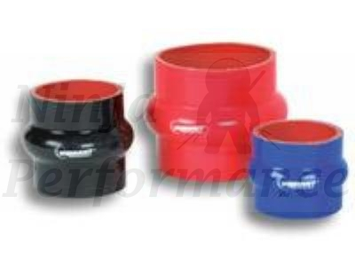 "Vibrant 4 Ply Reinforced Silicone Hump Hose Connector - 1.5"" I.D. x 3"" long 2729"